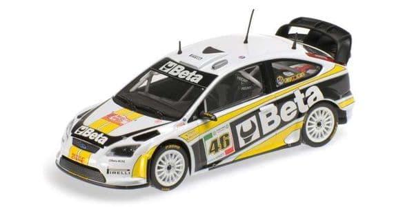 MINICHAMPS 400 088946 - Ford Focus Rally 'Beta'  Rossi/Cassina